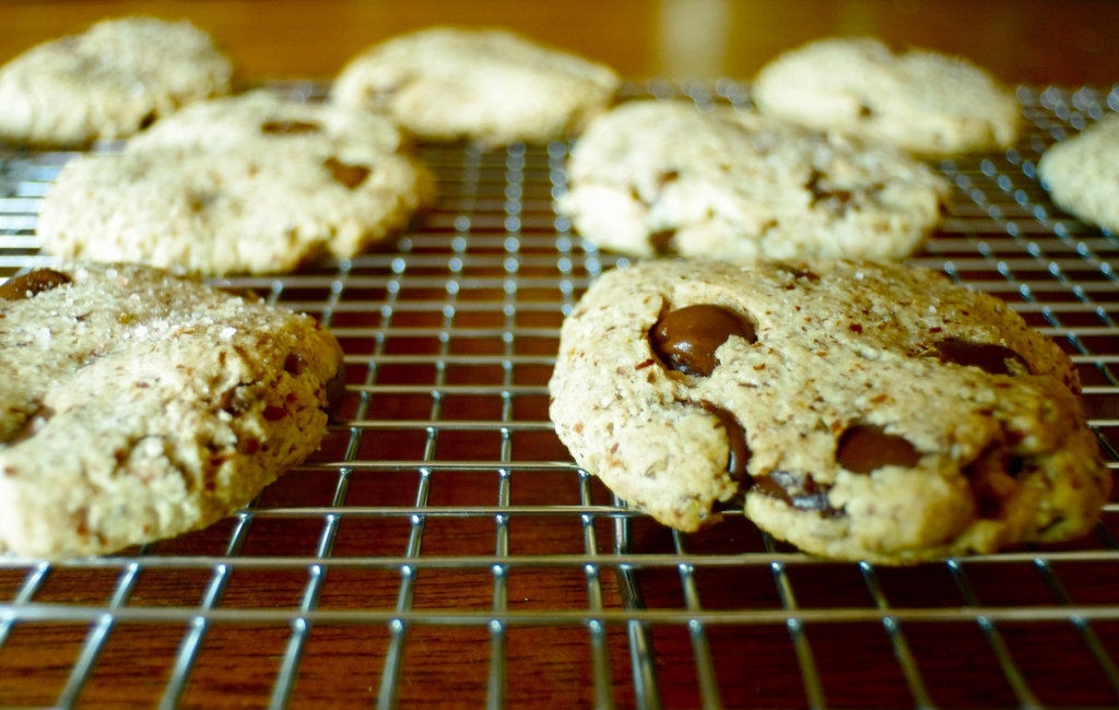 chocolate chip baked